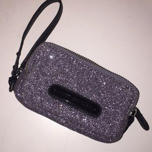 Juicy couture sparkly wristlet